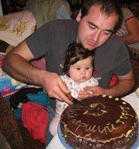 Мой первый торт)