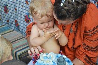 первый день рождение сынульки