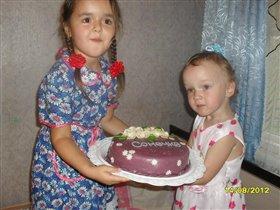 Именниный торт для Софьи