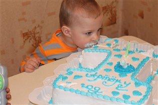 Вкусненький тортик!!!