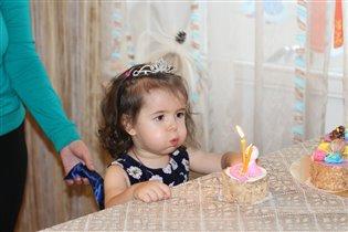Василисе 2 годика:)