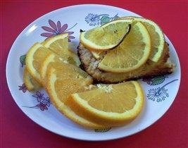 запеканка творожная с черносливом и апельсин