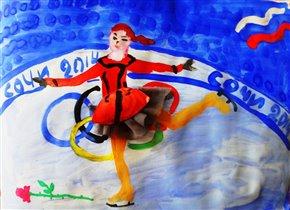 А мы на Олимпиаде!!!