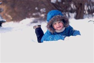 Долгожданный декабрьский снег