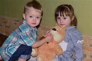 Марк и Альбина лучшие друзья!)