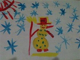 Снеговик - моей мечты