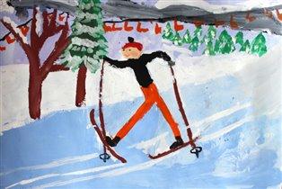 Лыжник! Горно-Лыжник!