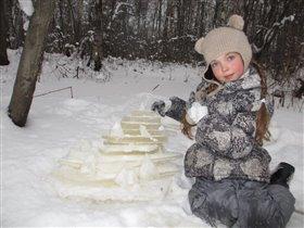 Ледяная пирамида.