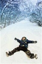 Поваляюсь на снегу!