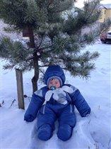 Мой любимый снеговик!!!!