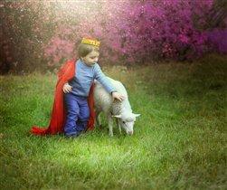 Маленький Принц и его барашек :)