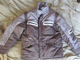 куртка мужская зима рр 48, цена 500 рублей