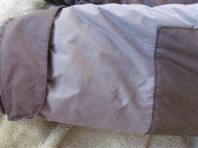 потертость на зимней куртке