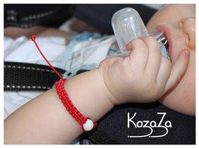 Детский браслет-оберег Шамбала