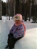 Зимняя прогулка)))