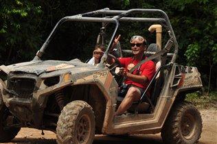 Сафари по джунглям - с папой :)