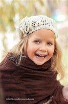 Анечка - обояшка и улыбашка!