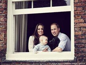 Новое фото герцогини Кэтрин Кембриджской, принца Уильяма и маленького Джорджа