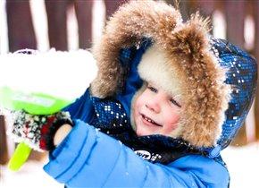 Веселая снежная прогулка!!!