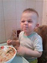 Мама я что козлик что бы капусту кушать