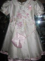 Платье паетки с сумкой