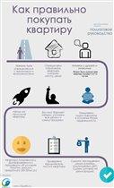 Инфографика: Как правильно покупать квартиру