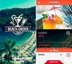 Мобильное приложение для заказа напитков на пляже