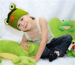 Платошка - лягушка