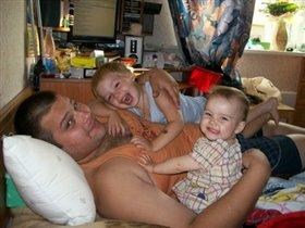 Любим папу!