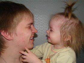 Отец и дочь точь-в-точь