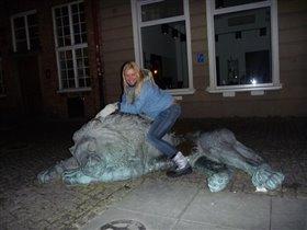 В Гданьске львов уважают..