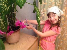 Выращиваю самые красивые цветы!