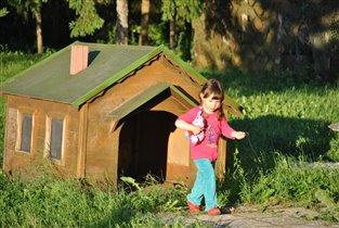 Дом для маленького гнома.