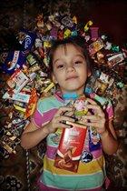 Много сладостей - это счастье !!