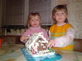 Шоколадный домик для моих ПРИРЦЕСС!!!
