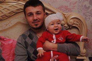 Папуля и дочка)