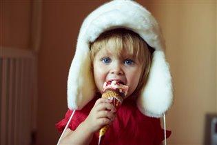 Ветуська с мороженкой