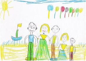 Отдых на острове (Маша 5 лет)
