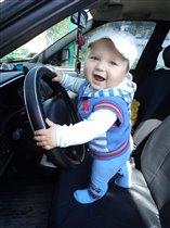 Маленький Шумахер!