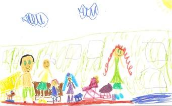 Моя семья на море в Гагре