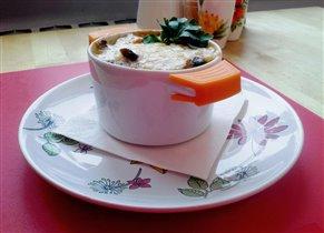 Жюльен с цветной капустой и грибами