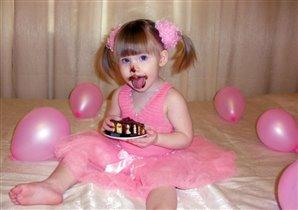 Детка в шоколаде :)