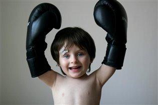 Юный боксер