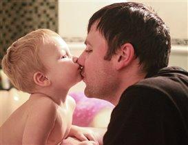 С любимым папочкой