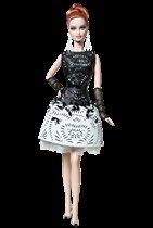 Барби Кожаное Платье с Лазерной Вырезкой