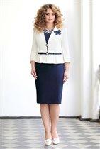 Платье+пиджак ,пр-во Белоруссия,52 р-р