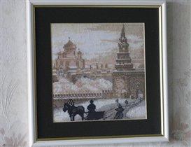 У Боровицких ворот Кремля (ЗР)