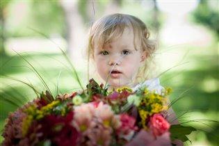Цветочек с цветами