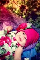 Мой любимый цветочек-моя дочь!