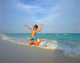 Солнце, море, белый песок!